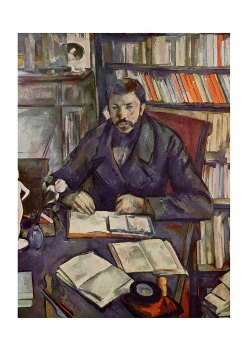 Paul Cezanne - In the Library