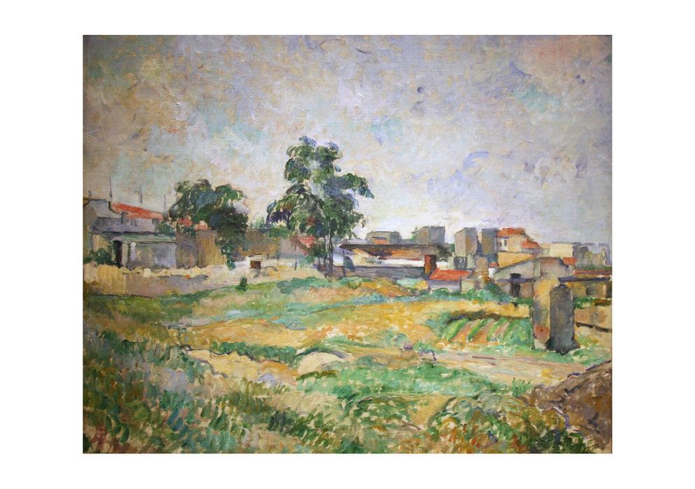 Paul Cezanne - Landscape near Paris