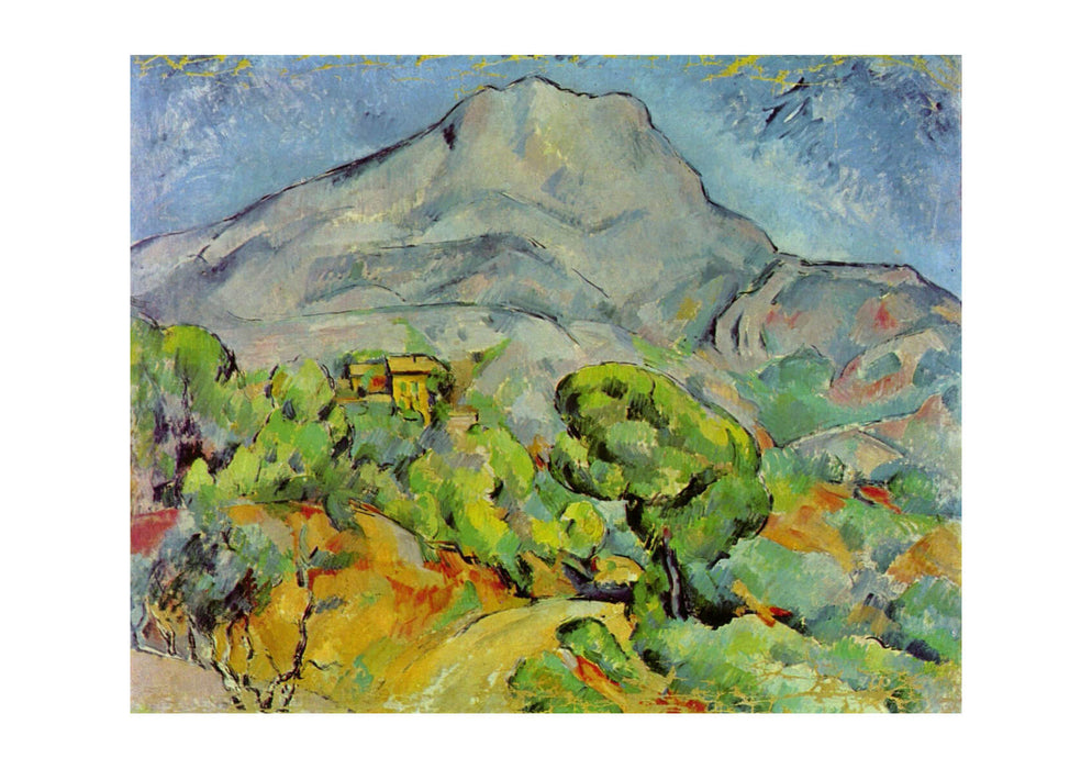 Paul Cezanne - Landscape of Mountain