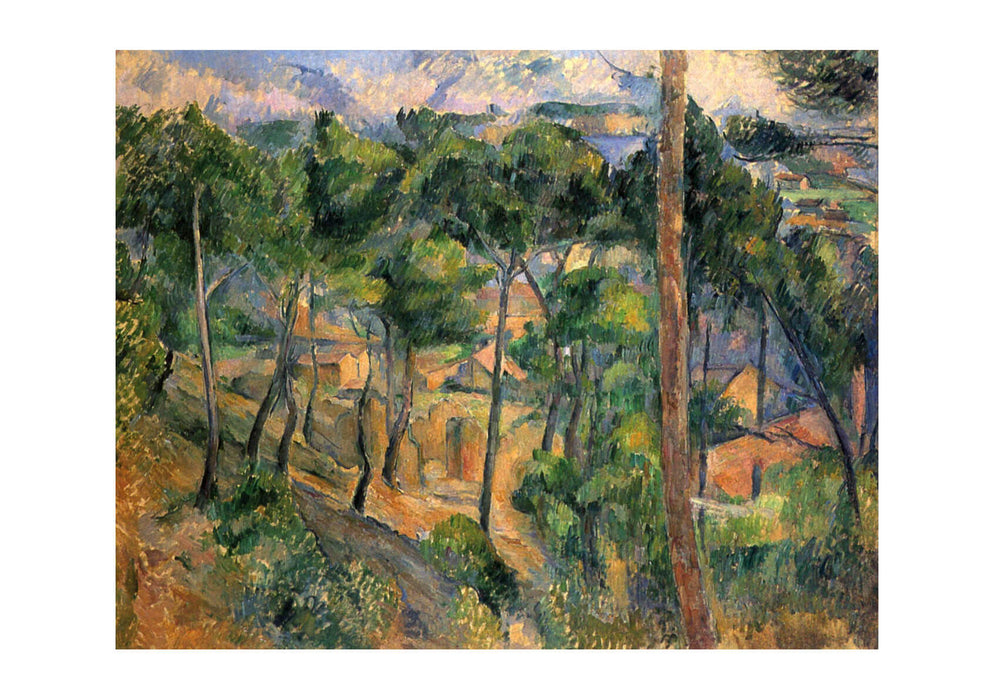 Paul Cezanne - Landscape of Trees