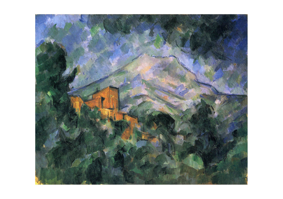 Paul Cezanne - Mountain and House