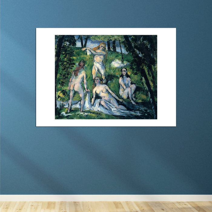 Paul Cezanne - Nudes Beneath Trees