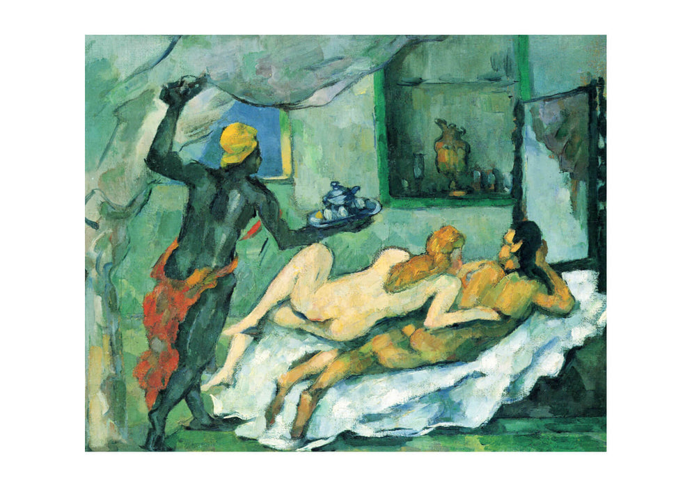 Paul Cezanne - Nudes Lying