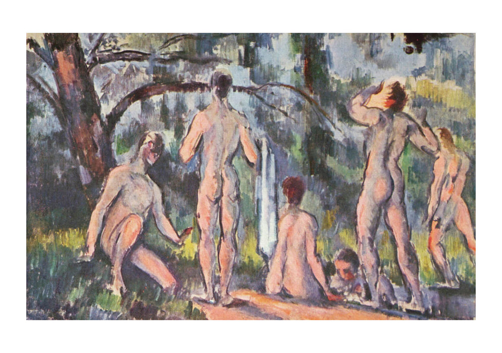 Paul Cezanne - Nudes by the River