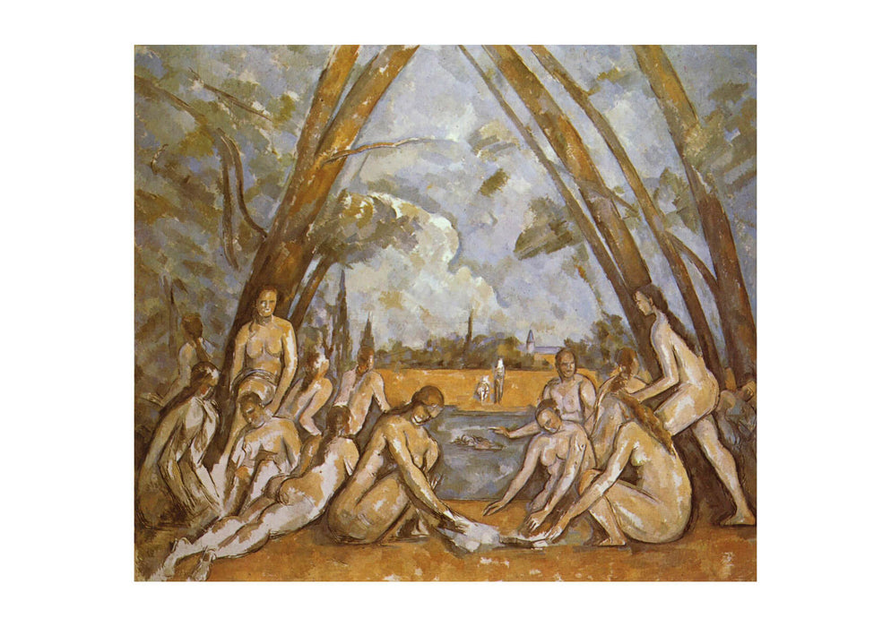 Paul Cezanne - Nudes in Landscape