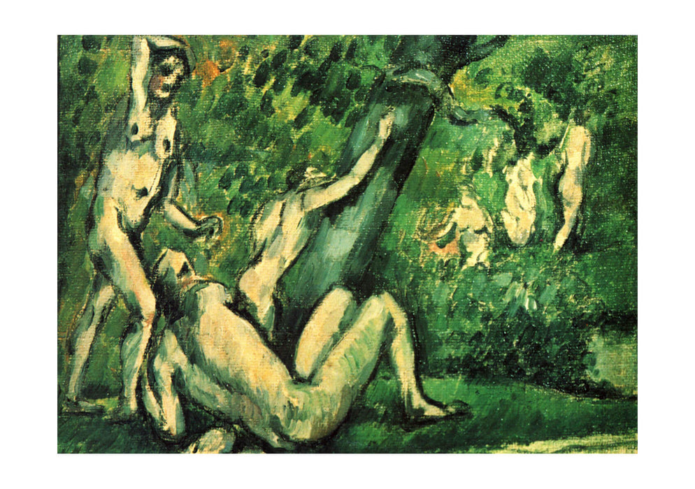 Paul Cezanne - Nudes in the Forest