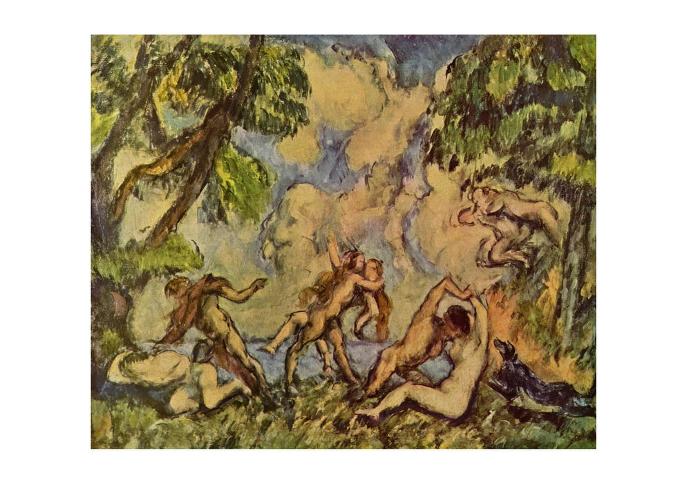 Paul Cezanne - Nudes in the Trees