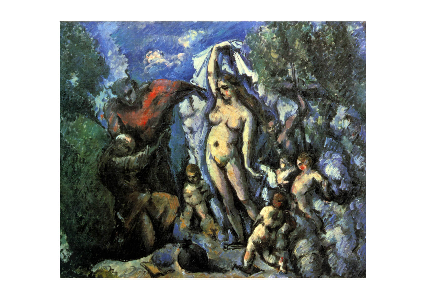 Paul Cezanne - Nymphs and Devils