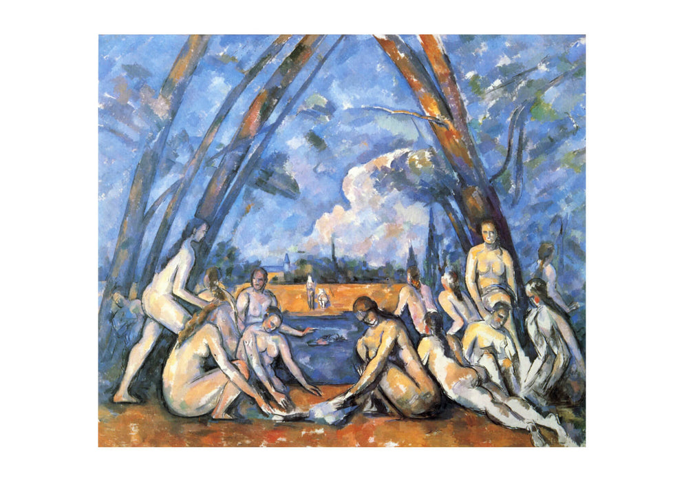 Paul Cezanne - Nymphs by the River