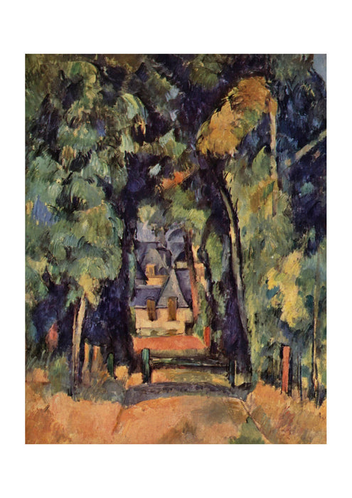 Paul Cezanne - Path in the Forest