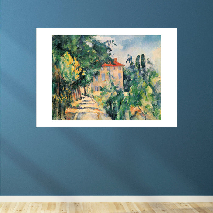 Paul Cezanne - Path to the House