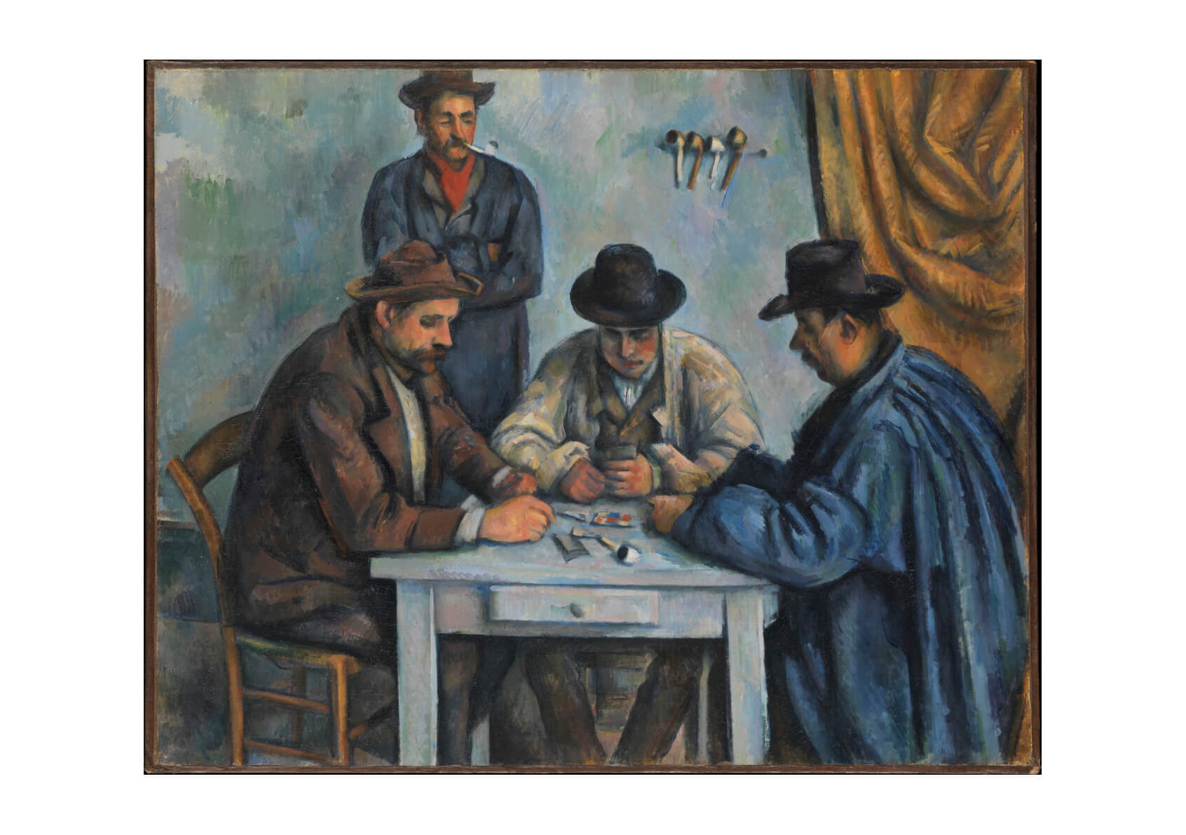 Paul Cezanne - Playing Cards