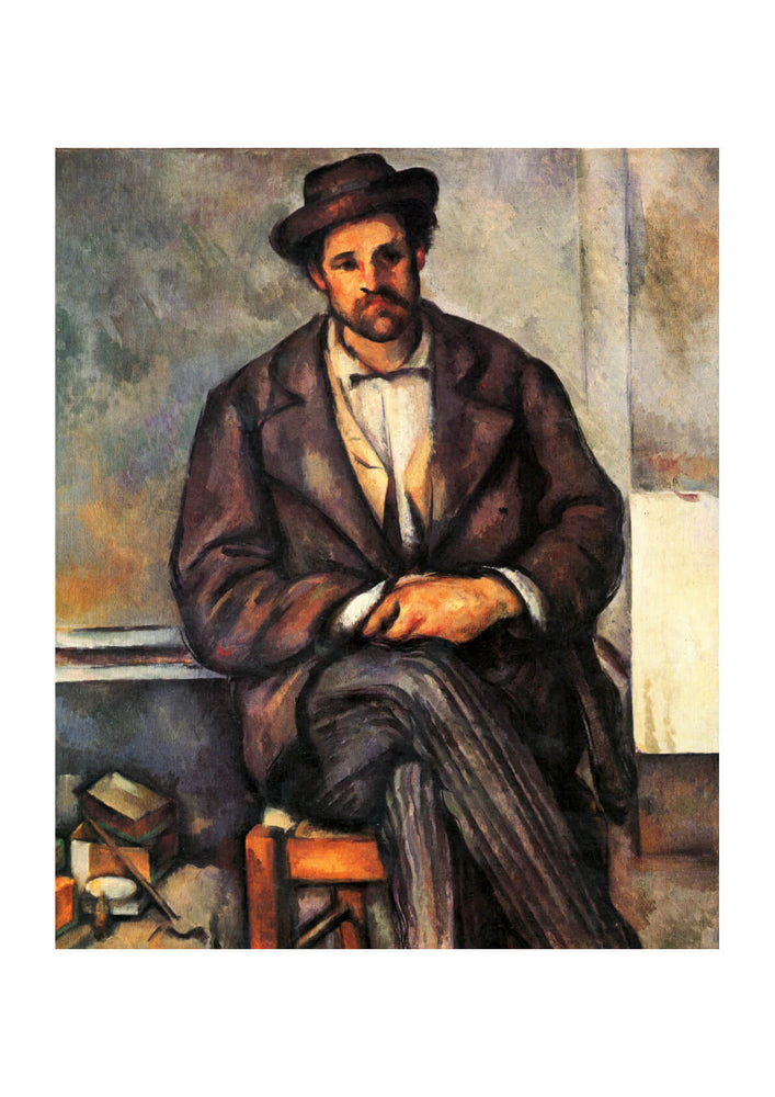 Paul Cezanne - Portrait Sitting