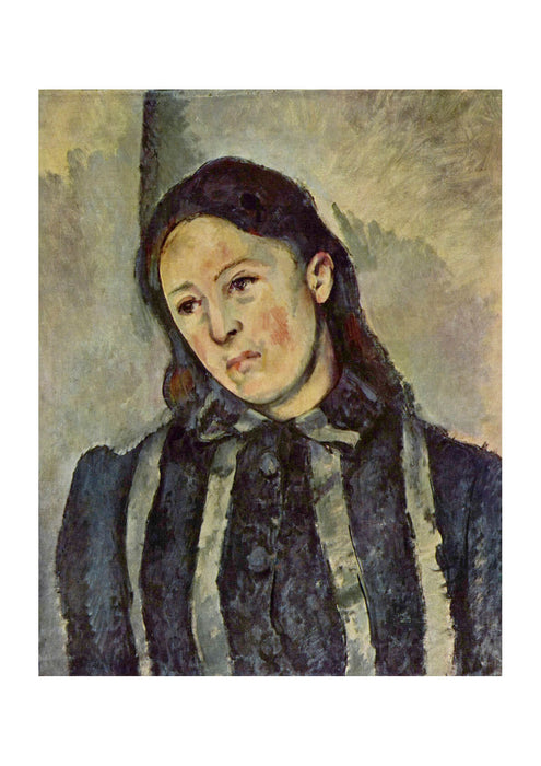 Paul Cezanne - Portrait in Stripes