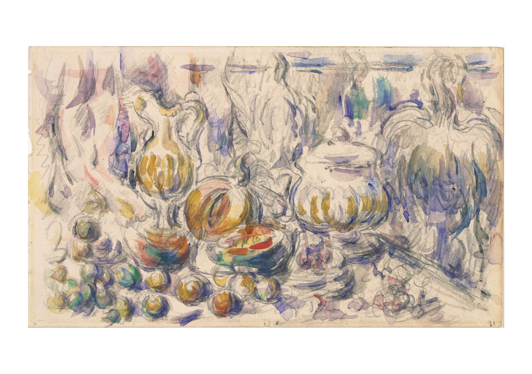 Paul Cezanne - Pot and Soup Tureen