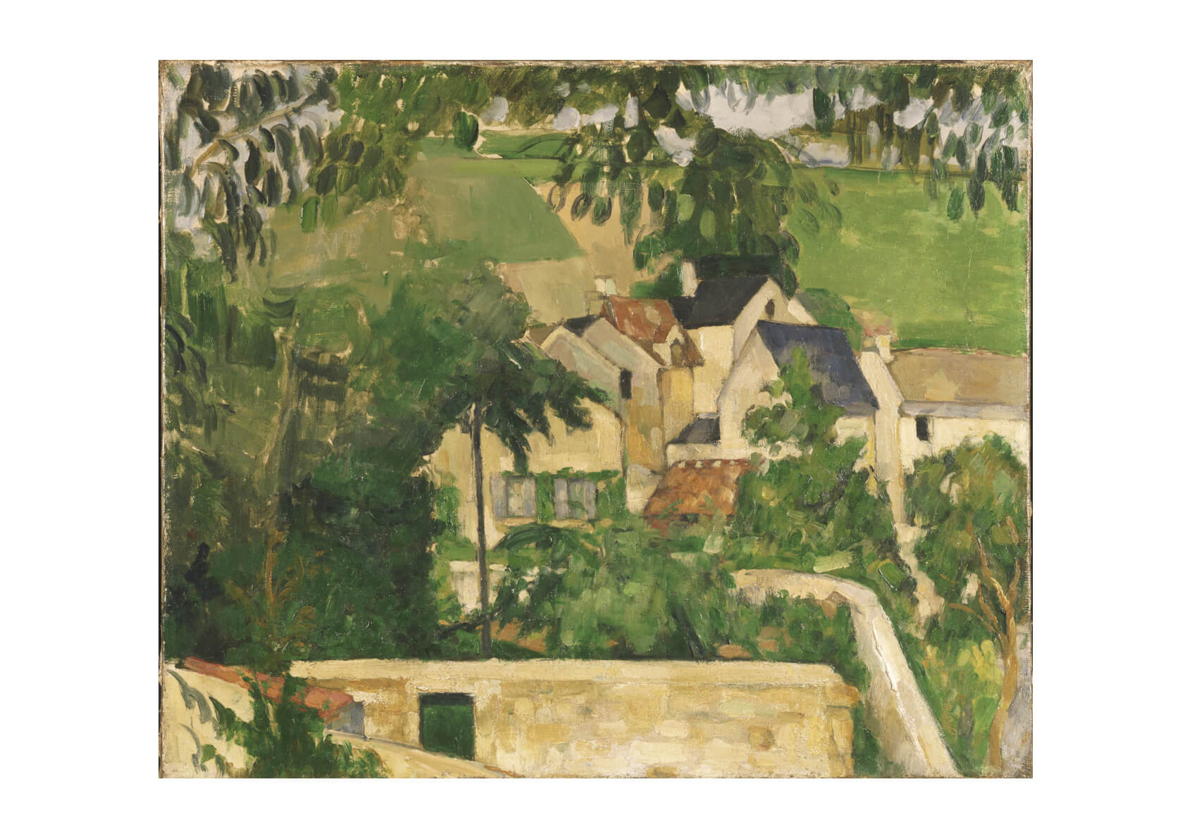 Paul Cezanne - Quartier Four Auvers-sur-Oise