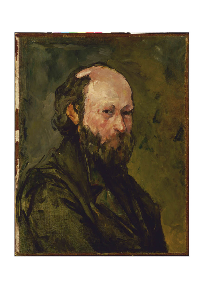 Paul Cezanne - Self-Portrait Brown