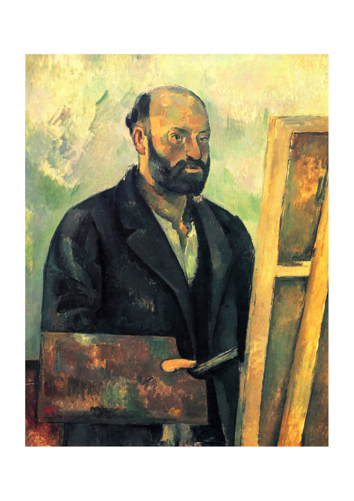 Paul Cezanne - Self Portrait