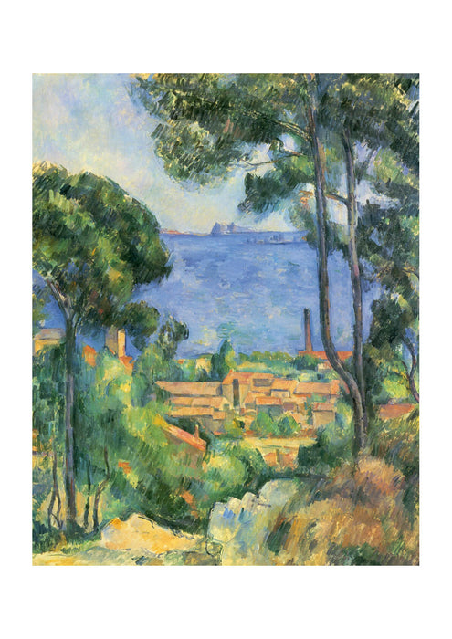Paul Cezanne - Small Town