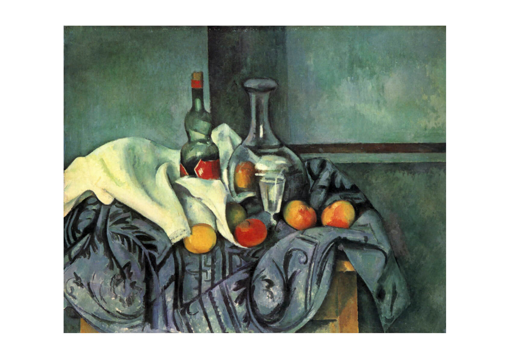 Paul Cezanne - Still Life Blue
