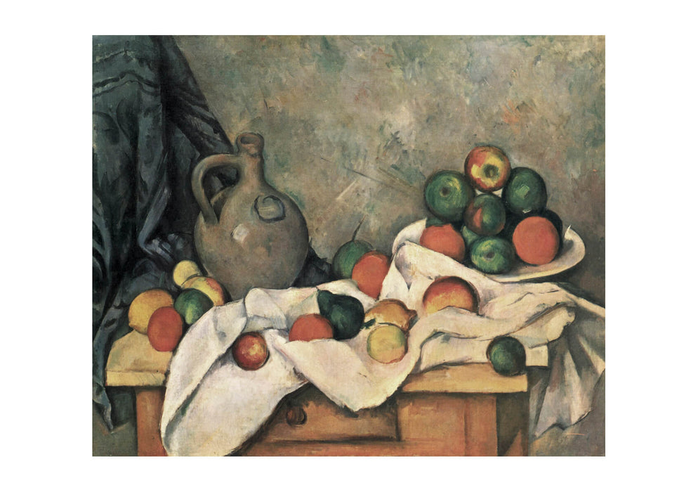 Paul Cezanne - Still Life Fruit Throw