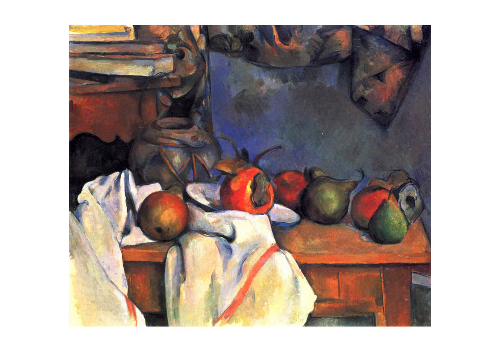 Paul Cezanne - Still Life Fruit on Table