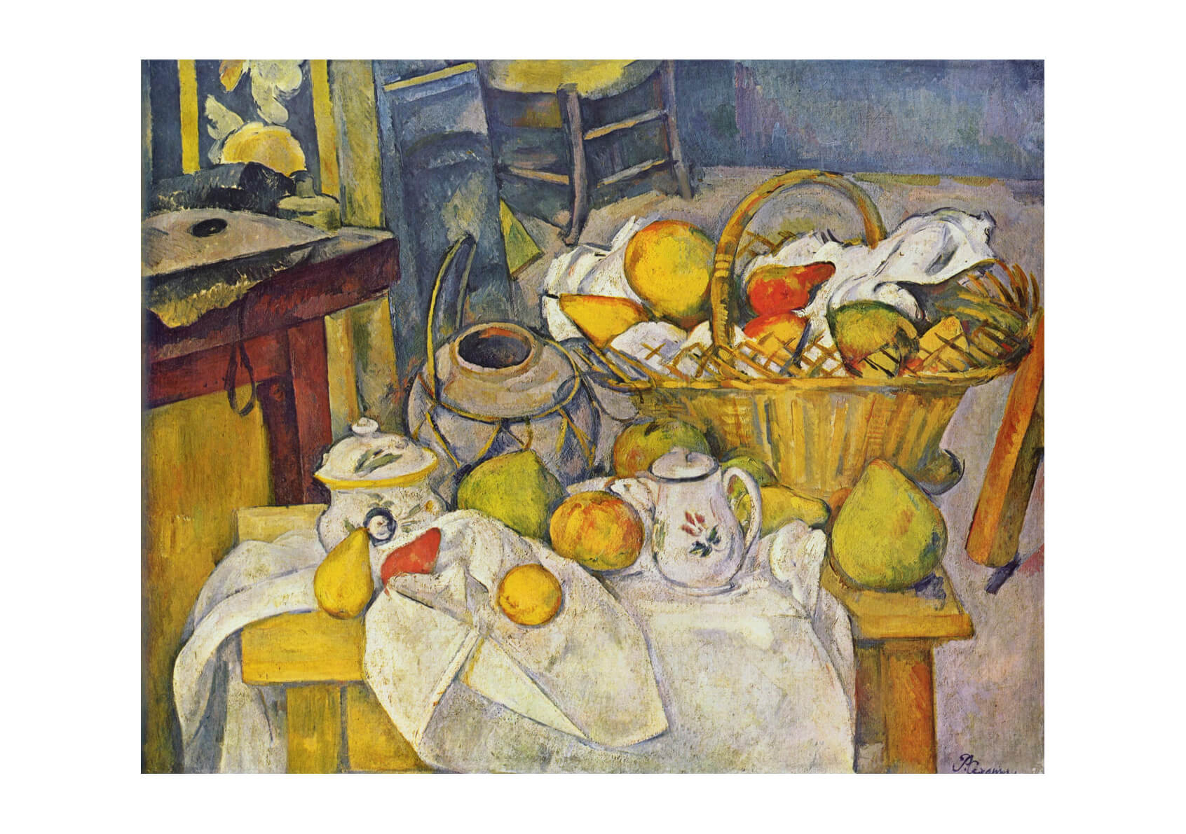 Paul Cezanne - Still Life Full Room