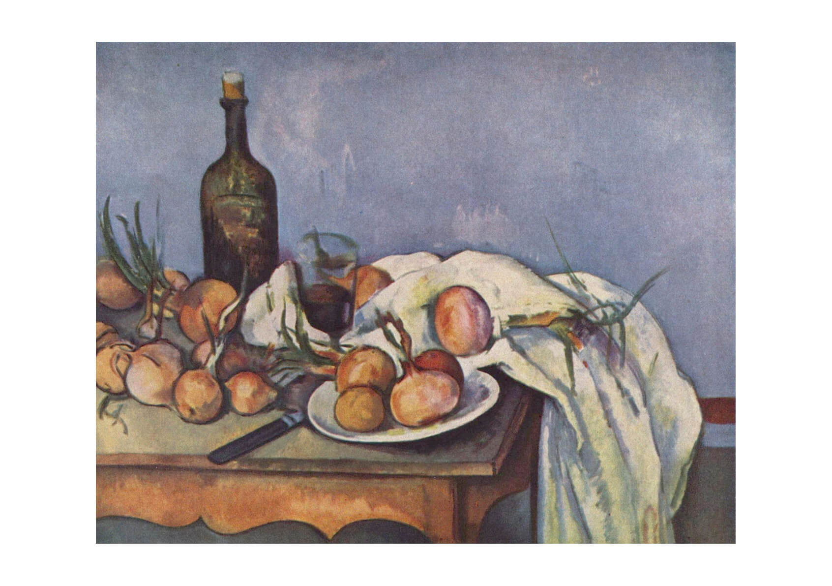 Paul Cezanne - Still Life Purple Room
