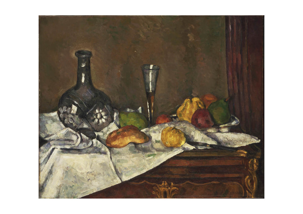 Paul Cezanne - Still Life food and Drink