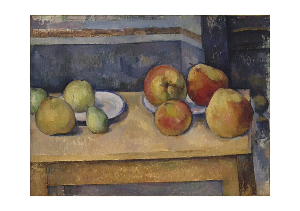 Paul Cezanne - Still Life with Apples and Pears