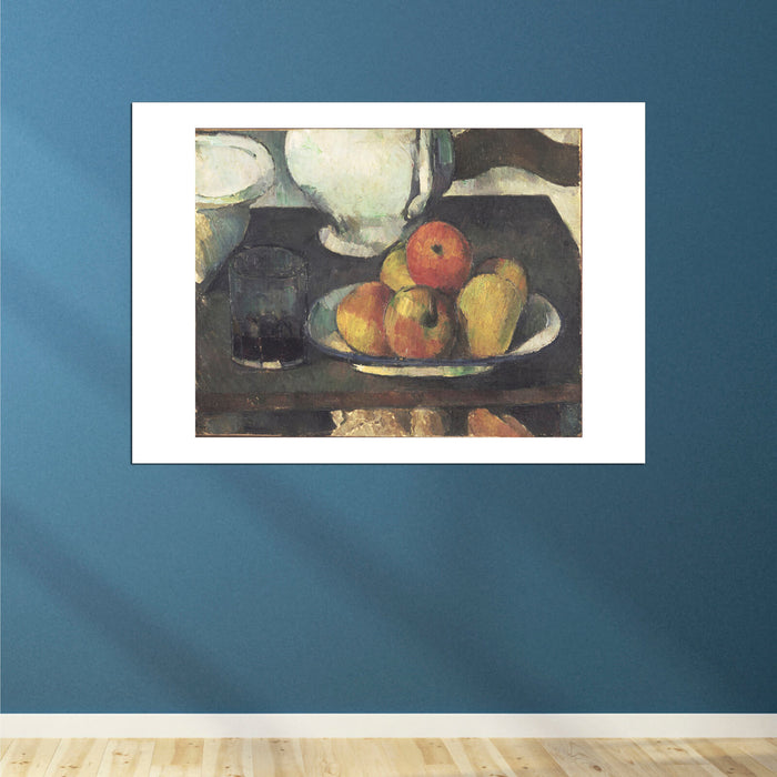 Paul Cezanne - Still Life with Apples and a Glass of Wine