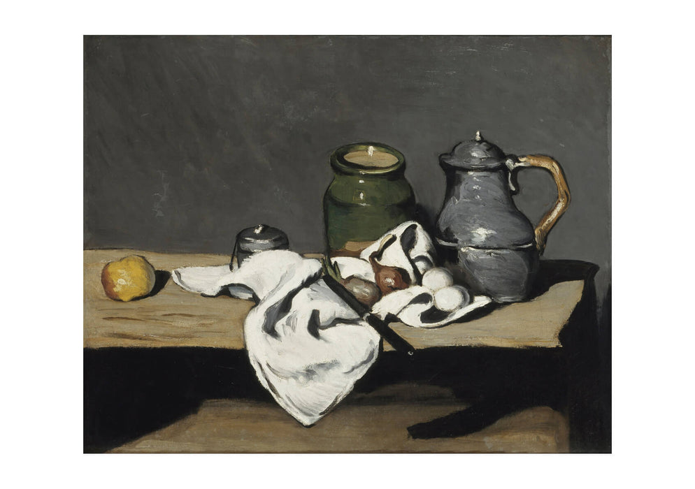 Paul Cezanne - Still life with kettle