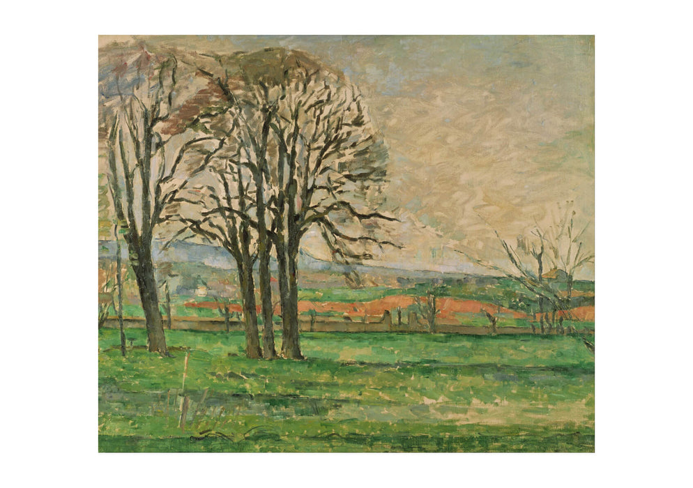 Paul Cezanne - The Bare Trees at Jas de Bouffan