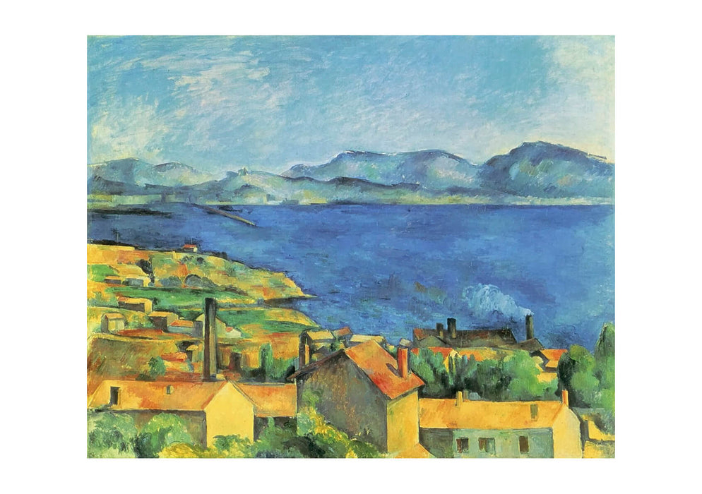 Paul Cezanne - The Bay of Marseilles 1885