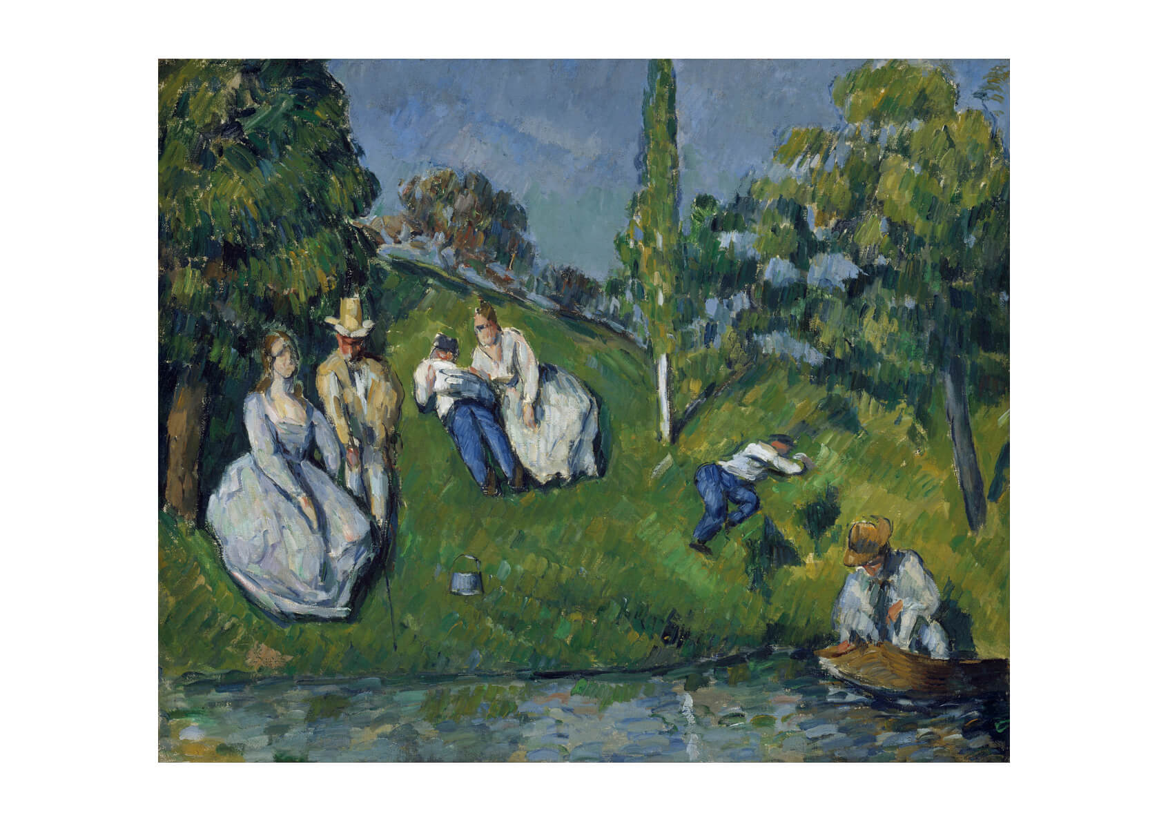 Paul Cezanne - The Pond Google