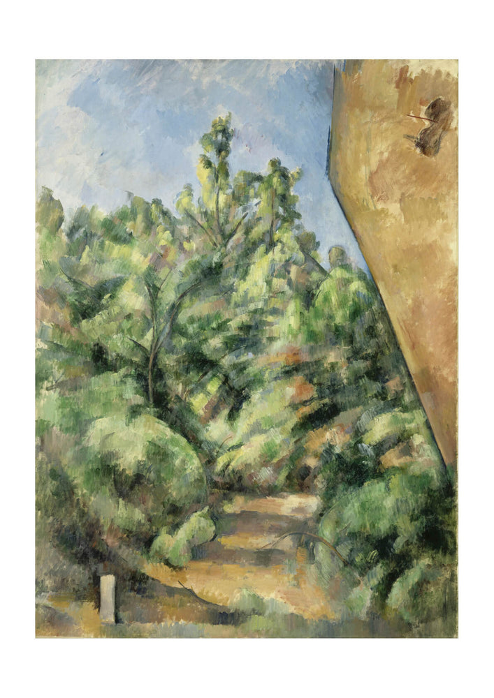Paul Cezanne - The Red Rock