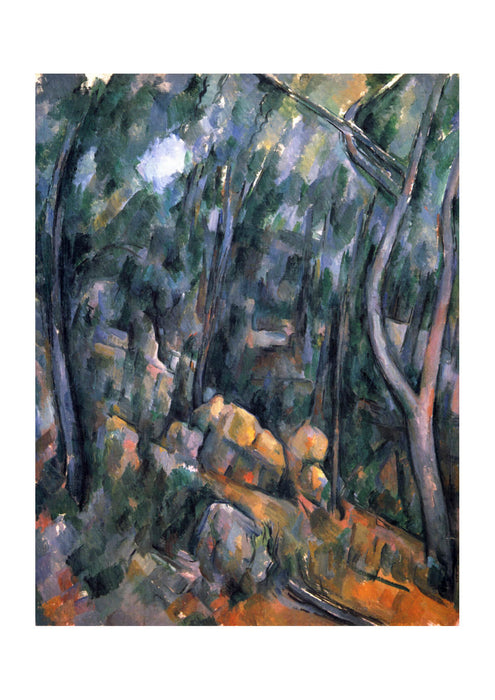 Paul Cezanne - Thick Trees