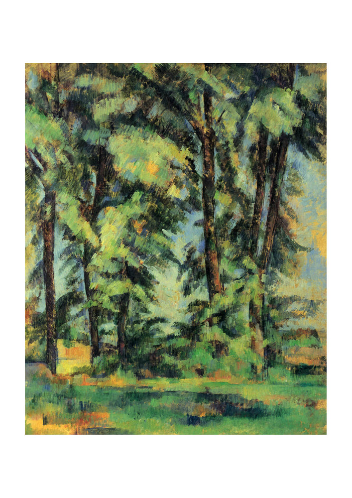 Paul Cezanne - Thicket