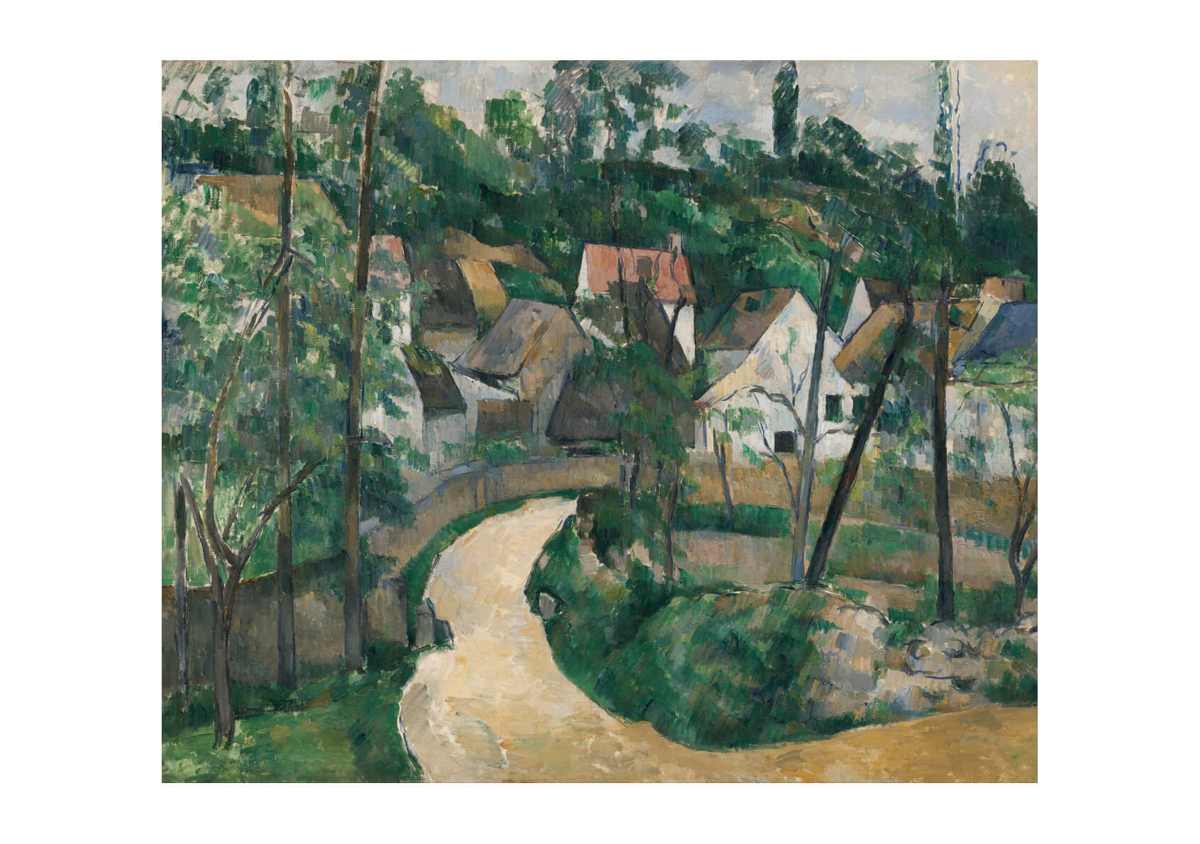 Paul Cezanne - Turn in the Road
