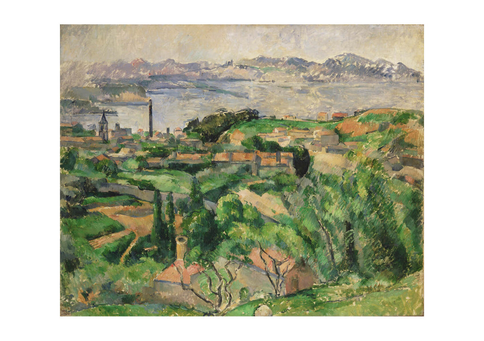 Paul Cezanne - View of the Bay of Marseille
