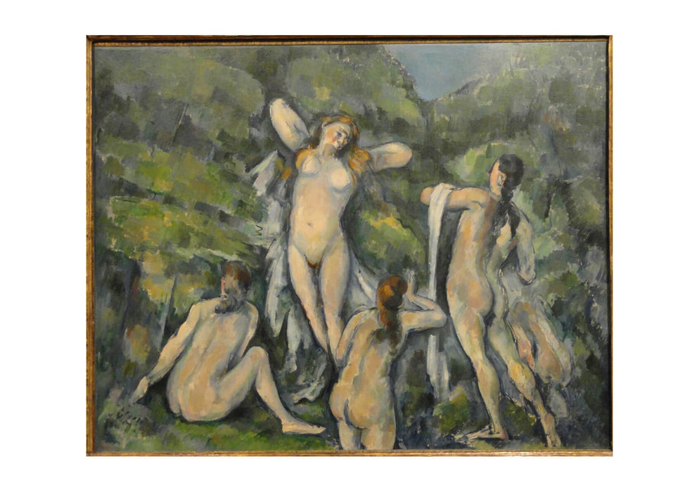 Paul Cezanne - Women Bathing