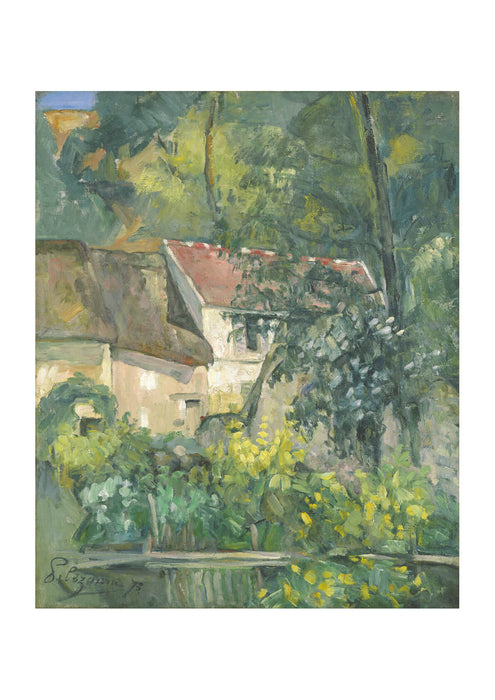 Paul Cezanne House of Pere Lacroix