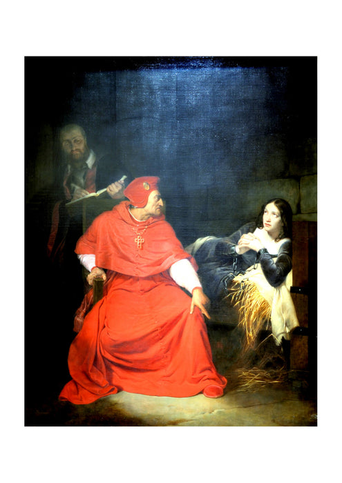 Paul Delaroche - In Red