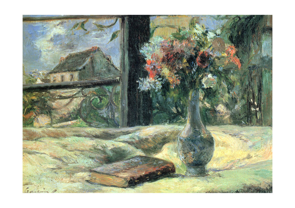 Paul Gauguin - A Book and A Vase