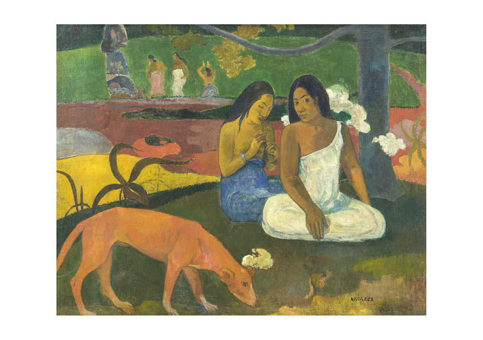 Paul Gauguin - Arearea beneath a Tree