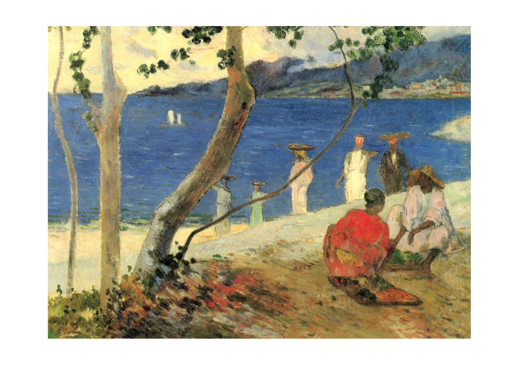 Paul Gauguin - By the Sea