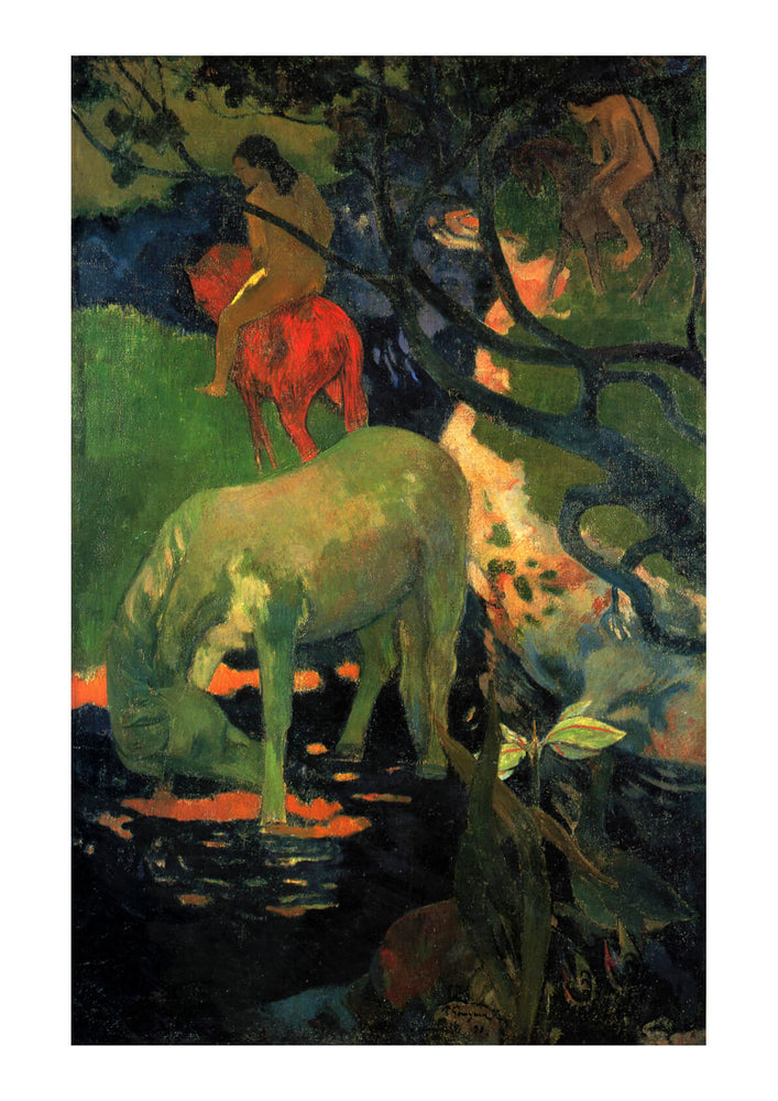 Paul Gauguin - Donkey