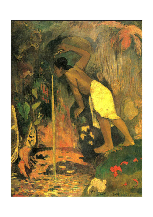 Paul Gauguin - Drinking