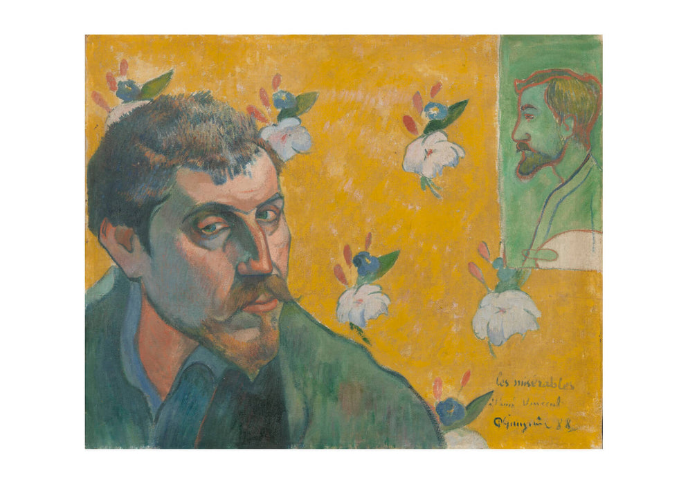 Paul Gauguin - Faded Self Portrait