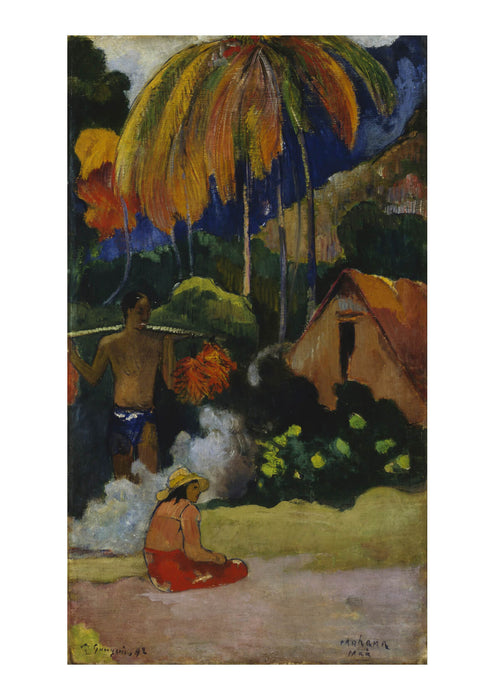 Paul Gauguin - Landscape in Tahiti